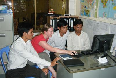 Cambodia staff
