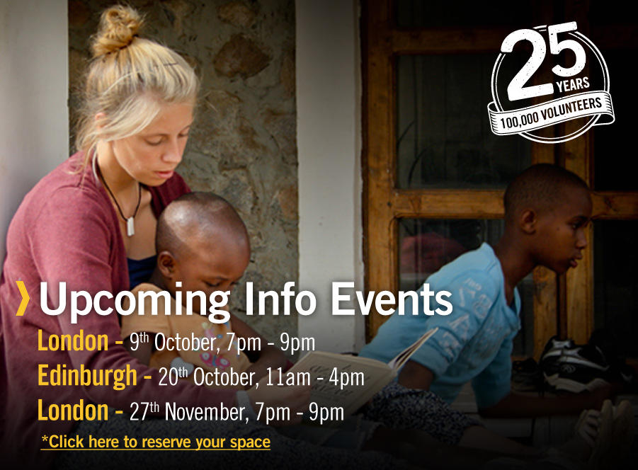 Projects Abroad Information Events
