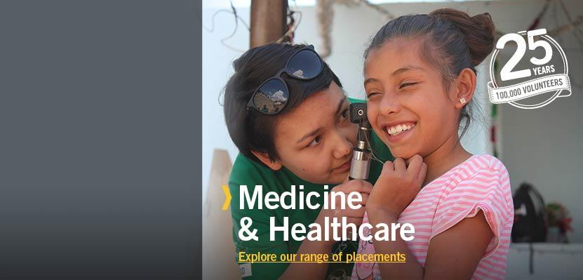 Medical & Healthcare Volunteering Placements Abroad