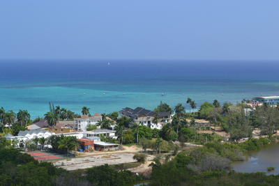Scenic shot of Jamaican coastline