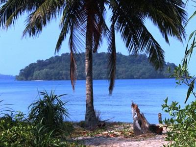 Sea view at a part of Koh Sdach – Cambodia conservation placement