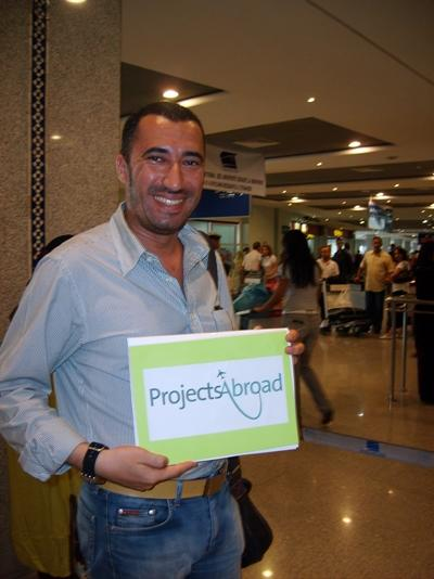 Projects Abroad member of staff