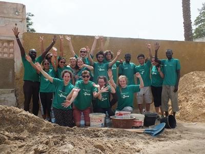 High School Special volunteers in Senegal, Africa