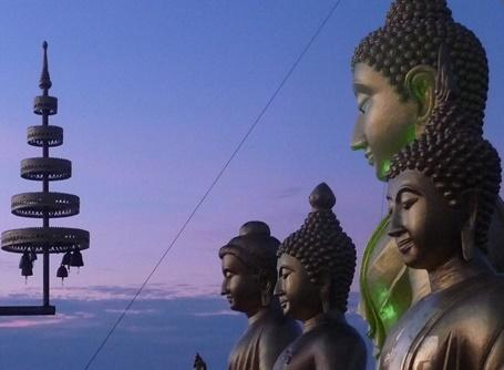 Buddha statues in Thailand