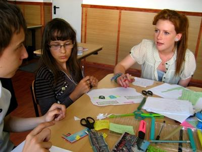 Projects Abroad volunteer on teaching placement in Romania