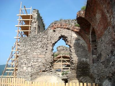 One of the work sites for the Archaeology project in Romania