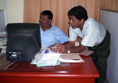 Staff at a Business placement in Sri Lanka