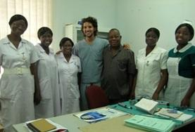 A group of volunteers make the most of their Dentistry Elective abroad by learning from local medical staff in Ghana.