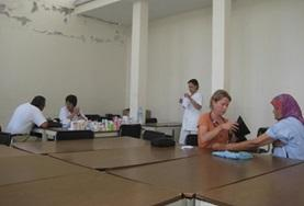 Nursing Elective volunteers discuss their work at a placement in Morocco