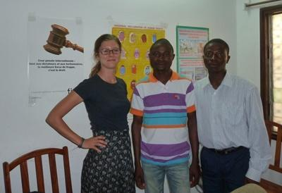 Psychology volunteer work in Togo