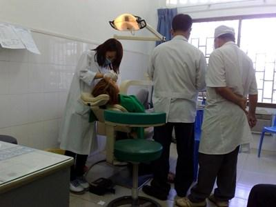 Voluntary Dentistry Work in Cambodia