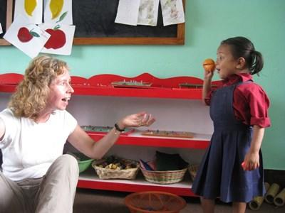Occupational therapist volunteer in Nepal