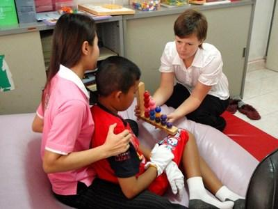 Voluntary work as a physiotherapist in Cambodia
