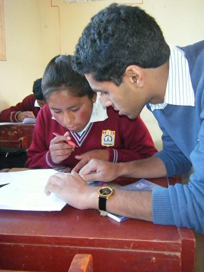 Voluntary Maths Teaching Opportunities in Peru