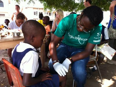 Join our Public Health High School Special project in Ghana and participate in public health outreaches