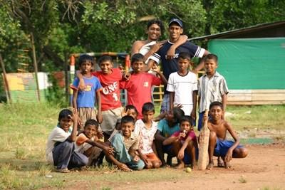 Volunteer cricket Sports coaching in India