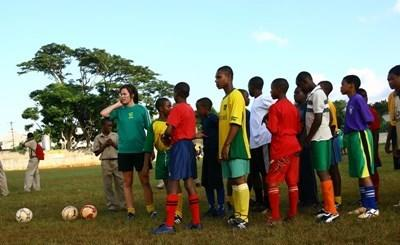 School sports coaching in Jamaica